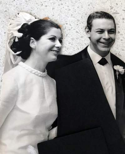- My first wedding in 1964